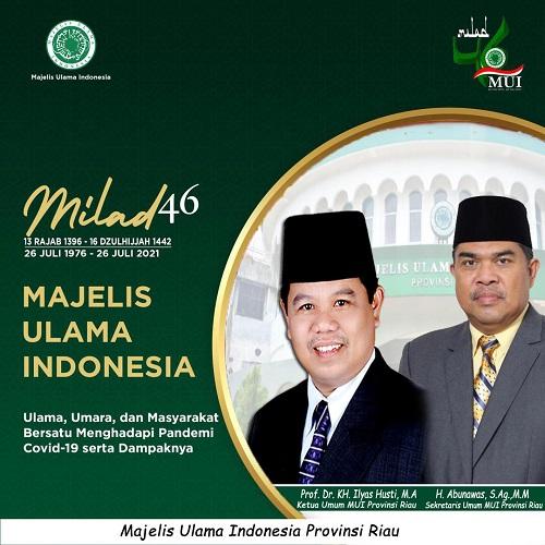 Milad Ke-46, MUI Riau Gelar Berbagai Kegiatan Pusat dan Daerah