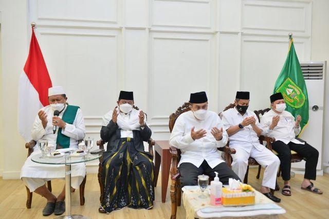 Pemprov Riau Bersama MUI Gelar Doa Bersama Syukuran Milad MUI, HUT RI, Tahun Baru Islam Ke-1443 H