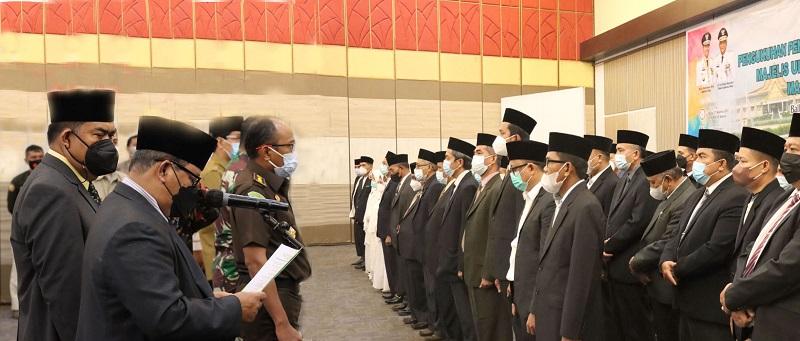 Pengurus Komisi MUI Riau Resmi Dikukuhkan, Dukung Visi Pemprov Riau dengan 4 Program Strategis